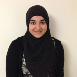 Hasina Noory, Royzen Lab undergraduate Student